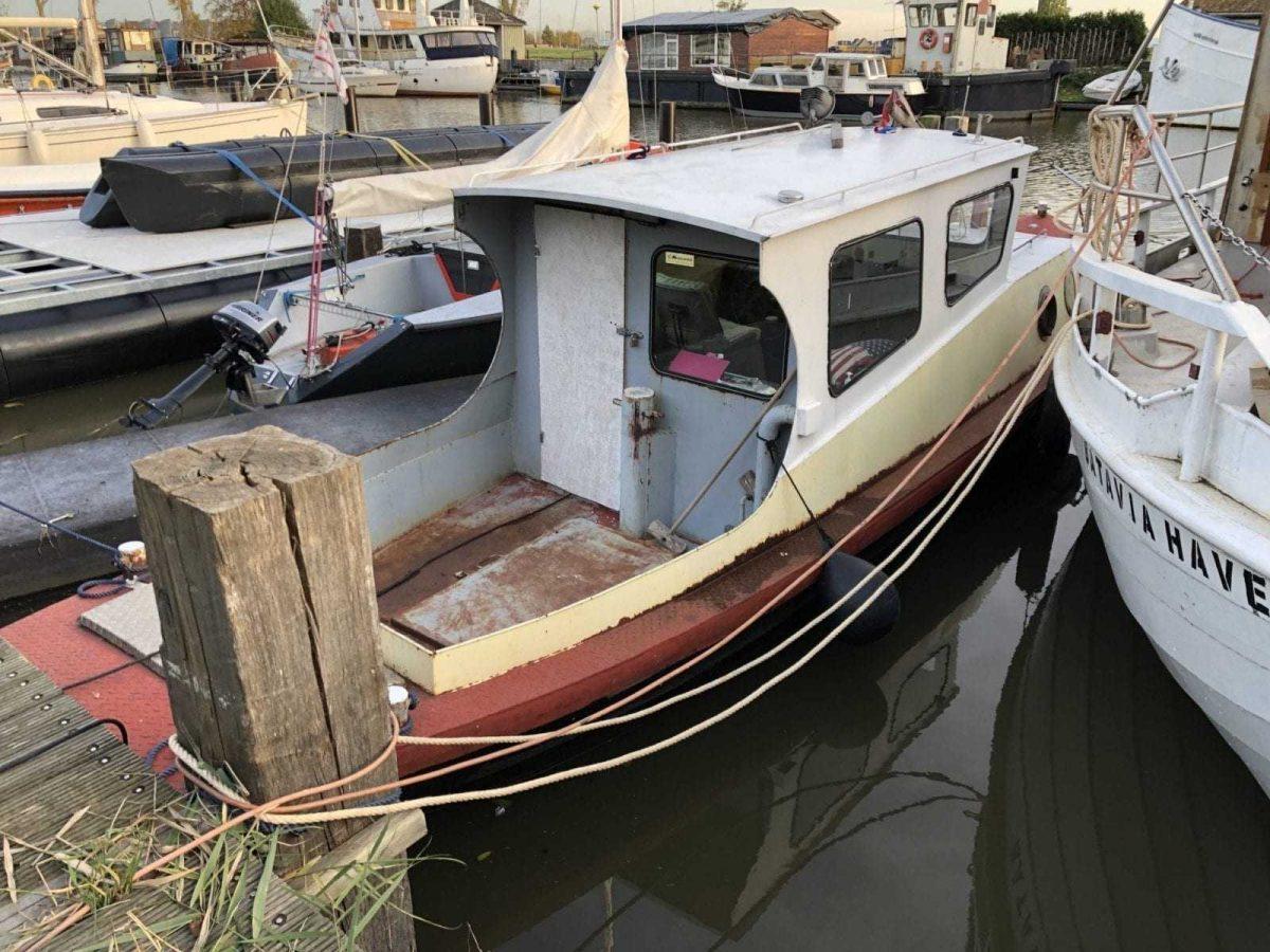 Nog een bootje voor het Zeekadetkorps