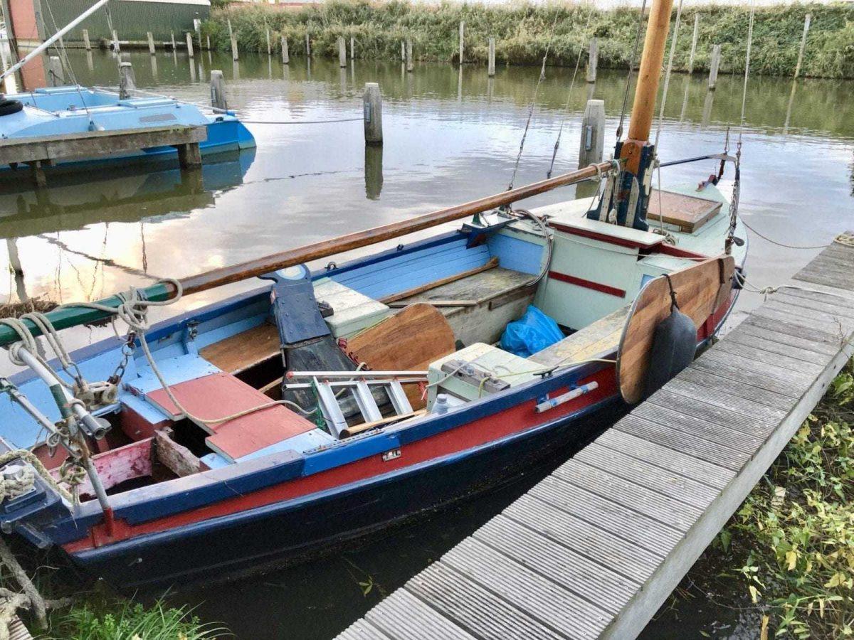 Even voorstellen: het eerste bootje van Zeekadetkorps Lelystad