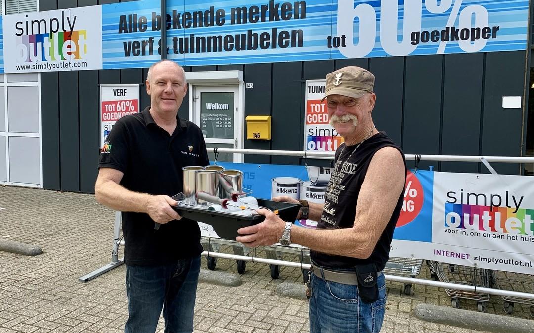 Simply Outlet welkome sponsor van Zeekadetkorps Lelystad