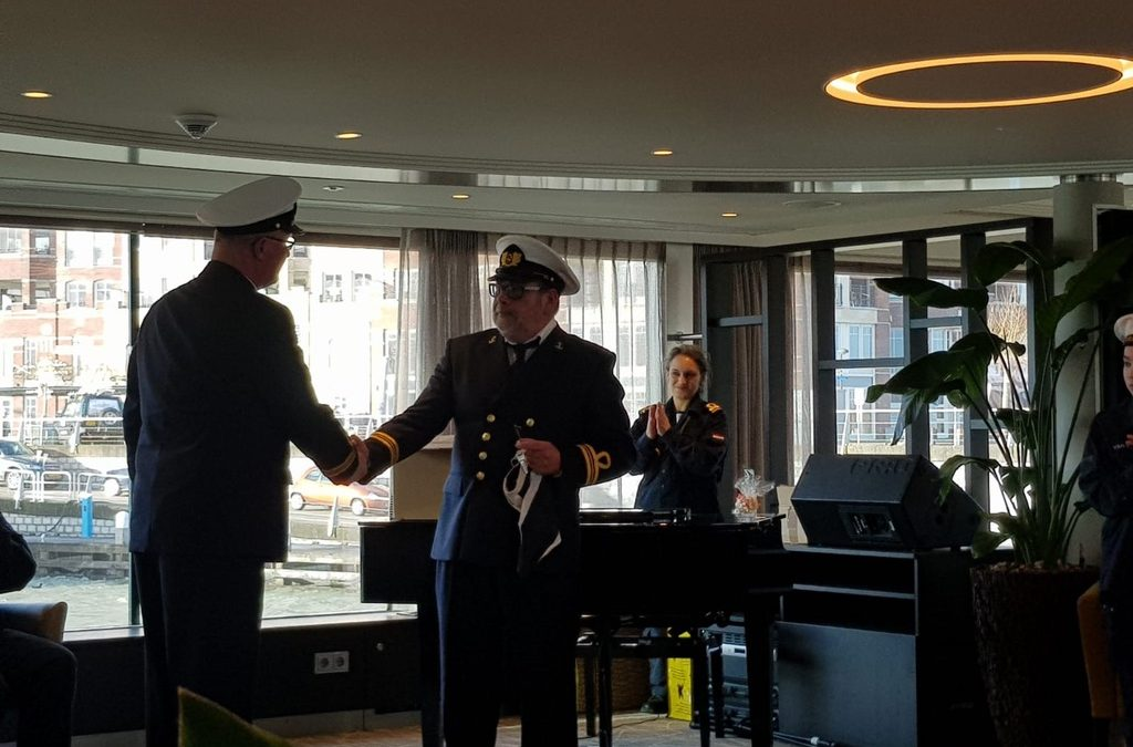 Paul van Kerkhof nieuwe commandant Zeekadetkorps Lelystad